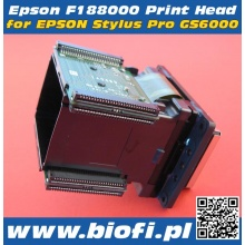 DX8 F188000 - GŁOWICA EPSON Solvent Based - Oryginal, Made in Japan